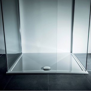 Drench 25mm Wafer Thin Luxury Stone Square Shower Tray