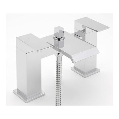 Sagittarius Dakota Waterfall Bath Shower Mixer & Shower Kit