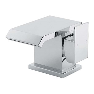 Sagittarius Dakota Waterfall Mono Basin Mixer with Clicker Waste