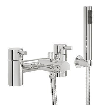 Vellamo Twist Bath Shower Mixer with Shower Attachment