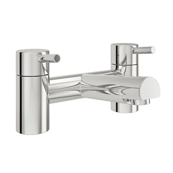 Vellamo Twist Bath Mixer Tap