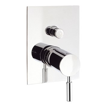 Crosswater Design Concealed Manual Shower Valve with Diverter