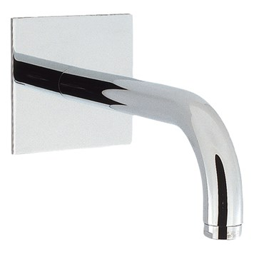 Crosswater Design Wall Mounted Bath Spout 160mm