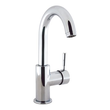 Crosswater Design Basin Side Lever Monobloc with Click Clack Waste (Slotted)
