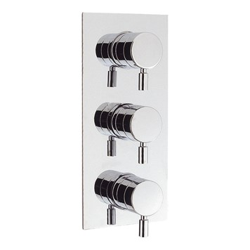 Crosswater Design Concealed Thermostatic Shower Valve 3 Control