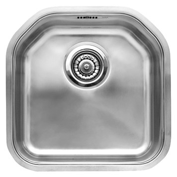 Reginox Denver Single Bowl Stainless Steel Undermount Kitchen Sink & Waste