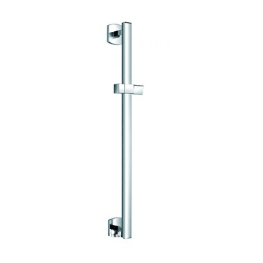 Flova Dekka Slide Rail with Integral Wall Outlet & Adjustable Handset Holder