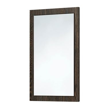Harbour Mirror with Dark Oak Frame - 900 x 600mm
