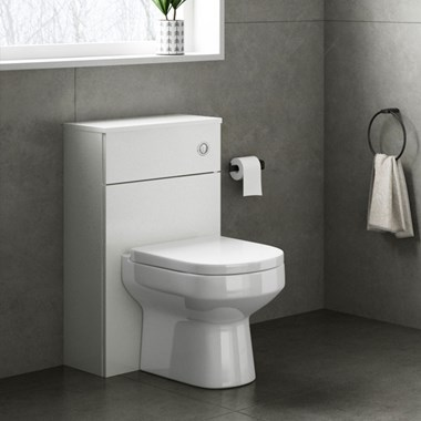 Drench Emily 500mm WC Unit - Gloss White