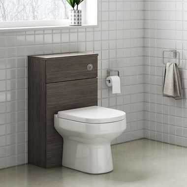Drench Emily 500mm WC Unit - Grey Avola