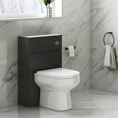 Drench Emily 500mm WC Unit - Hacienda Black