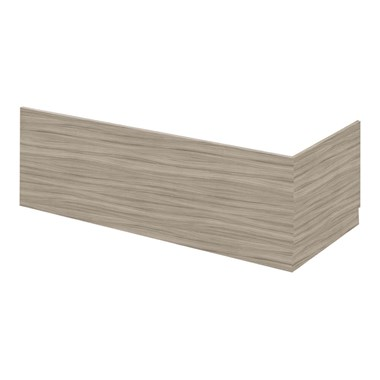 Drench Emily 1700mm Bath Front Panel - Driftwood