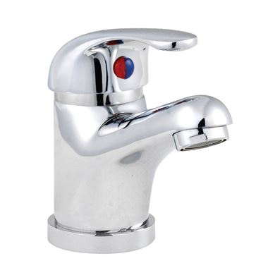 Premier D-Type Mono Basin Mixer With Pop-Up Waste
