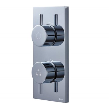 Crosswater Digital MPRO Two Outlet Concealed Thermostatic Shower Valve