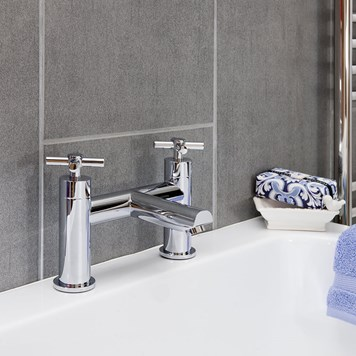 Vellamo Cross Bath Filler - Crosshead Handles