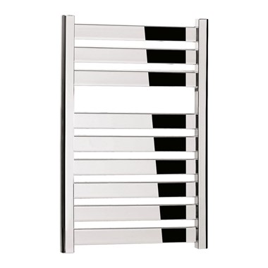 Bauhaus Edge Flat Panel 500 x 720 Towel Rail in Chrome