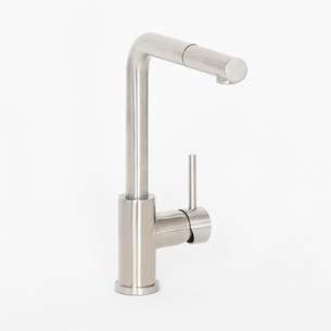 TW Edzell Pullout Stainless Steel Kitchen Sink Mixer