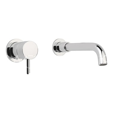 Sagittarius Ergo Wall Mounted Basin Mixer