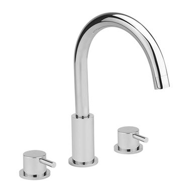 Sagittarius Ergo 3 Hole Bath Filler with Swivel Spout