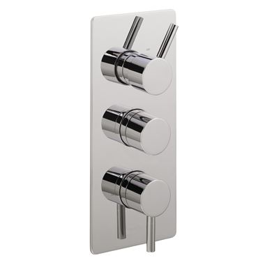 Sagittarius Ergo Concealed Thermostatic Shower with 3 Way Divertor