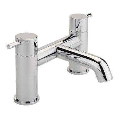 Sagittarius Ergo Deck Mounted Bath Filler