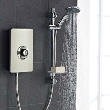 Vado Elegance Electric Shower  - Bronze and Chrome
