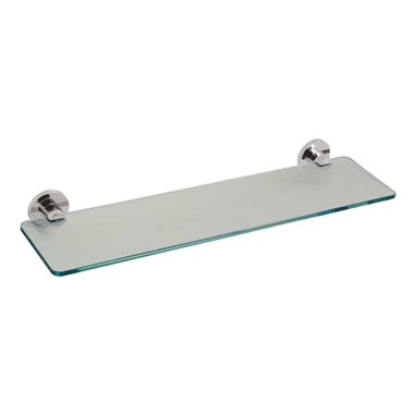 Vado Elements Wall Mounted Frosted Glass Shelf