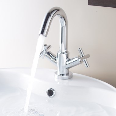 Vado Elements Water Basin Mono Mixer with Clic-Clac Waste
