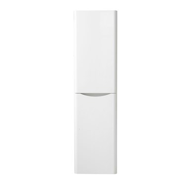 Maya Wall Mounted Tall Unit - Gloss White