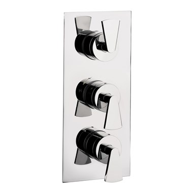 Crosswater Essence Concealed Thermostatic Shower Valve 3 Control
