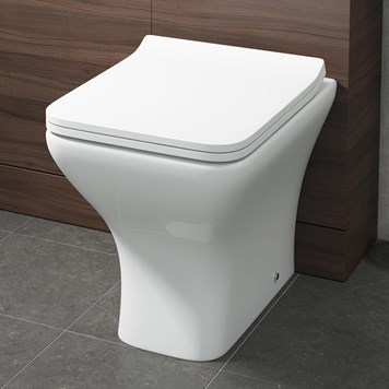 Harbour Alchemy Back to Wall Toilet & Wafer Thin Soft Close Seat