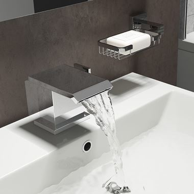 Vellamo Angel Waterfall Mono Basin Mixer