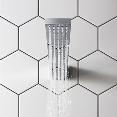 Crosswater Zion Fixed Wall Mounted Showerhead