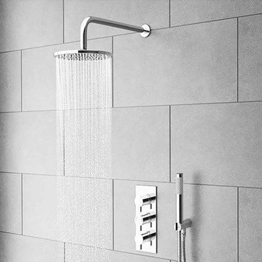 Crosswater Central Fixed Shower Head - 200mm