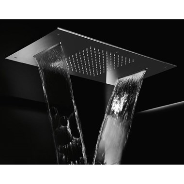 Crosswater Illuminated Multifunction Showerhead