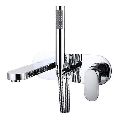 Vellamo Desire Wall Mounted Bath Shower Mixer With Kit