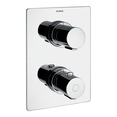 Flova Annecy 1 Outlet Concealed Thermostatic Shower Valve