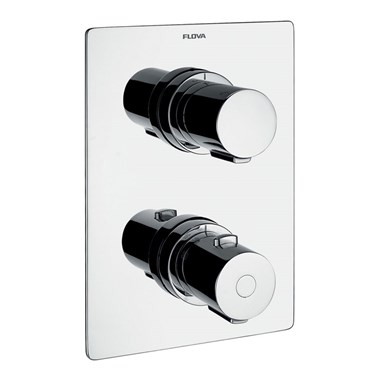 Flova Annecy 3 Outlet Concealed Thermostatic Shower Valve