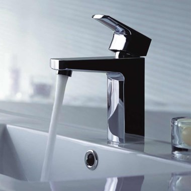 Flova Dekka Cloakroom Mono Basin Mixer with Clicker Waste