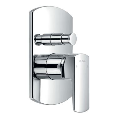 Flova Dekka Concealed Manual Shower Valve With 2 Outlet Diverter & Smart Box