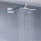 Flova Design Rectangular Brass Rainshower Head