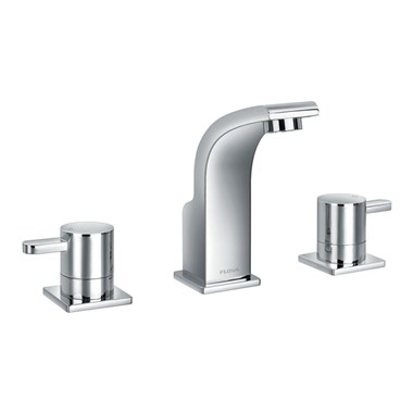 Flova Essence 3 Hole Basin Mixer & Clicker Waste Set