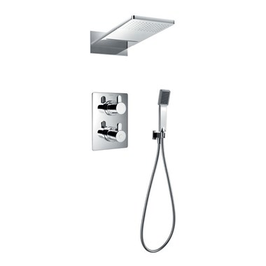 Flova Essence Concealed Thermostatic Shower Valve Kit 1