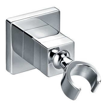Flova Square Brass Hand Shower Clasp Holder