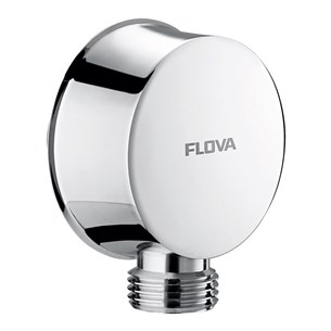 Flova Liberty Wall Outlet Elbow - Chrome