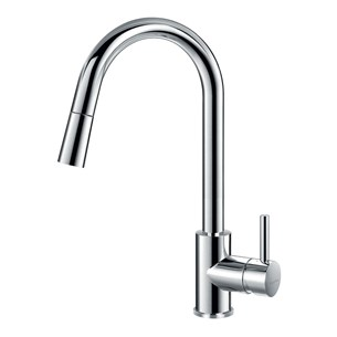 Flova Levo Single Lever Pull Down Spray  Kitchen Mixer