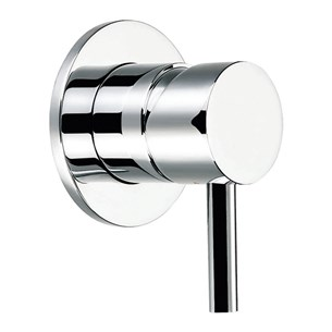 Flova Levo Concealed Manual Shower Valve With Round Plate - 2 Outlet