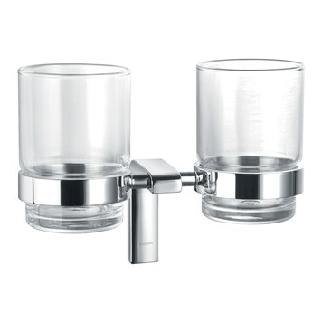 Flova Lynn Double Glass Tumbler Holder
