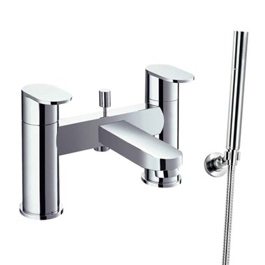Flova Smart Deck Mounted Bath Shower Mixer With Hand Shower Set