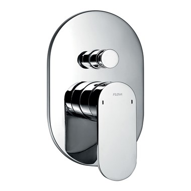 Flova Smart Concealed Manual Shower Valve With 2 Outlet Diverter & Smart Box